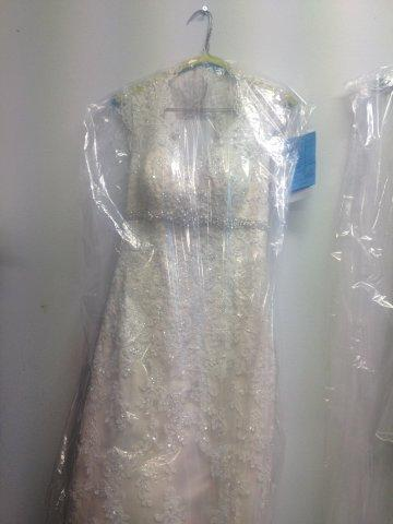 Bridal dress dry clean
