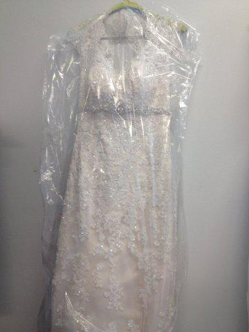 Dress dry clean bridal