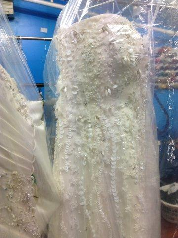 Dress bridal  dry clean